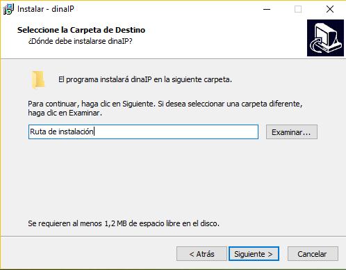 instalar dinaip en Windows