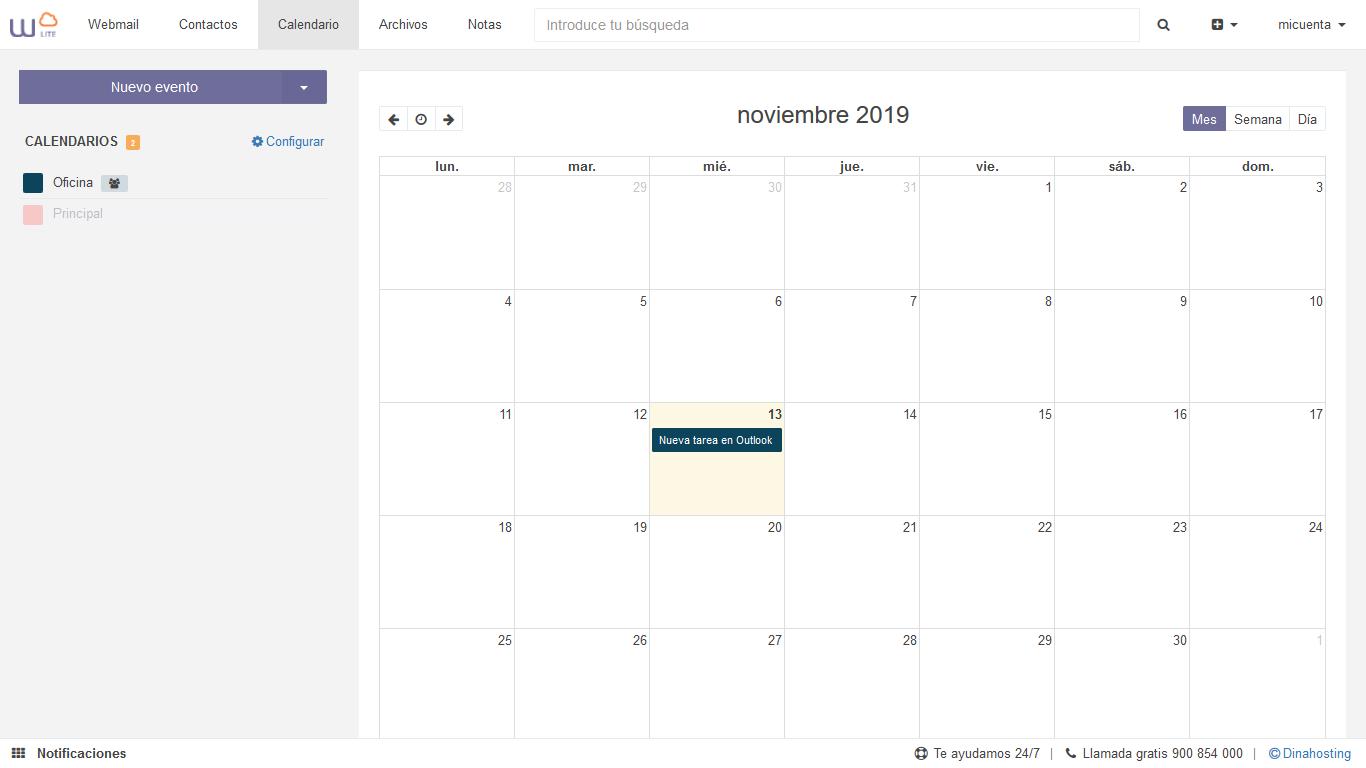 Sincronizar tareas Outlook