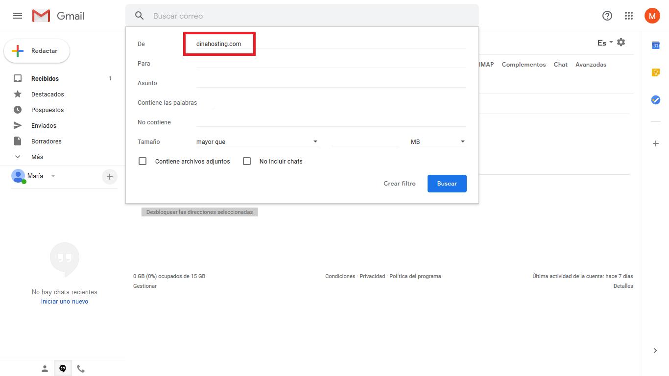 Ayuda para evitar que Gmail marque como spam algunos correos