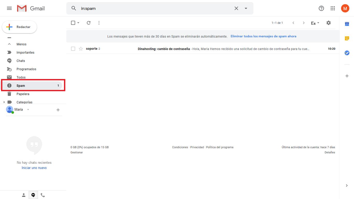 Como evitar que gmail etiquete correos legítimos como spam