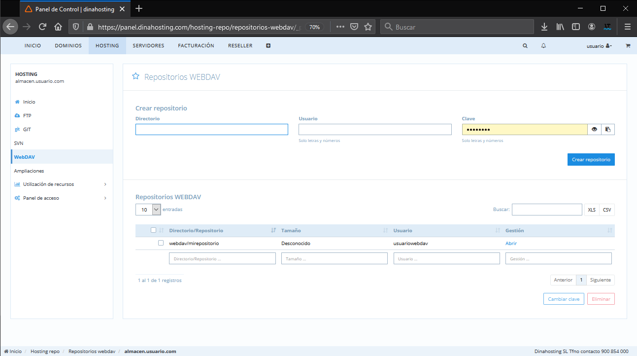 Compartir y sincronizar ficheros con almacenamiento adicional