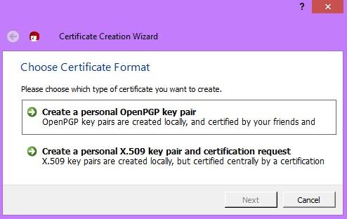 PGP en Outlook