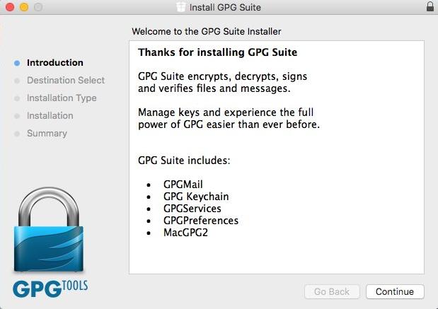 Usar PGPen Mac OS X