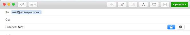 Usar PGPen Mac OS X después