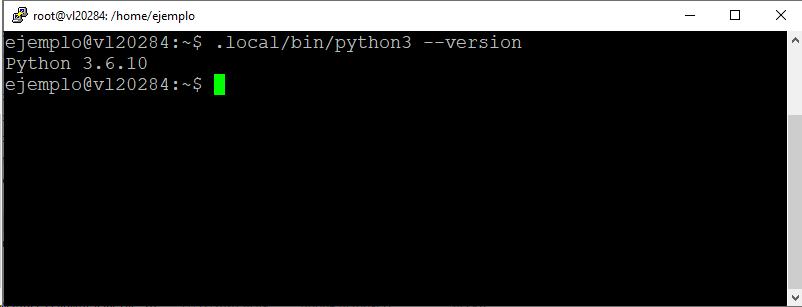 Version de Python