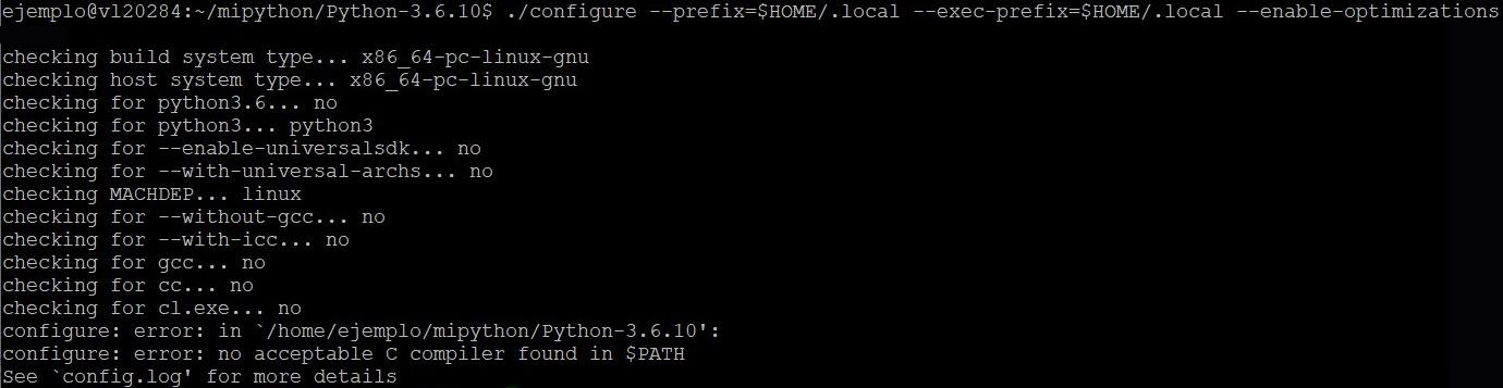 Error de Python