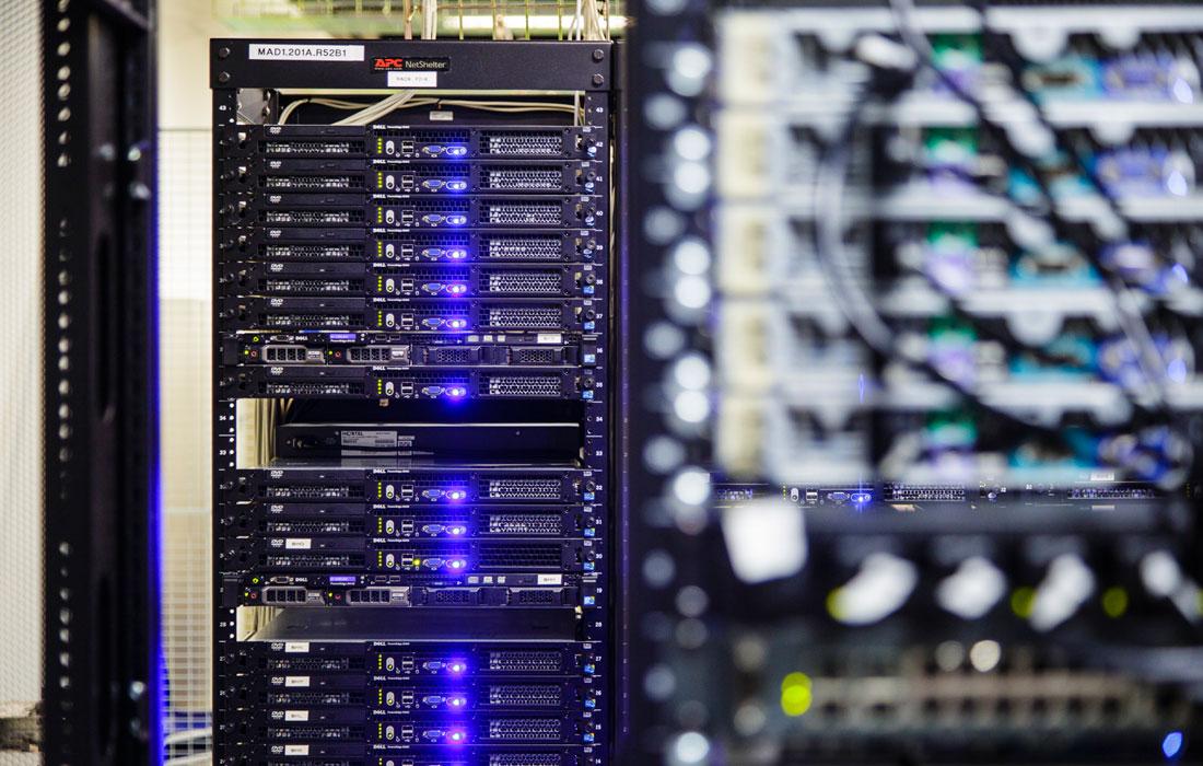 Centro de datos de dinahosting