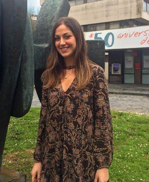Alejandra Carballa, alumna do Mestrado