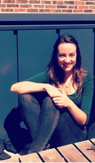 Naomi Fernández, alumna do mestrado.