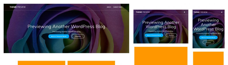 Plantilla de WordPress responsive