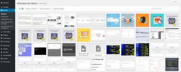 Por qué eliminar las imágenes no usadas en WordPress | dinahosting
