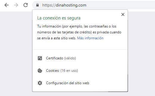 certificado SSL navegadores