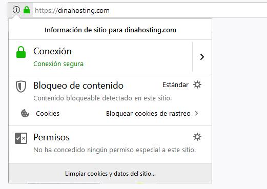Conexión segura certificados SSL