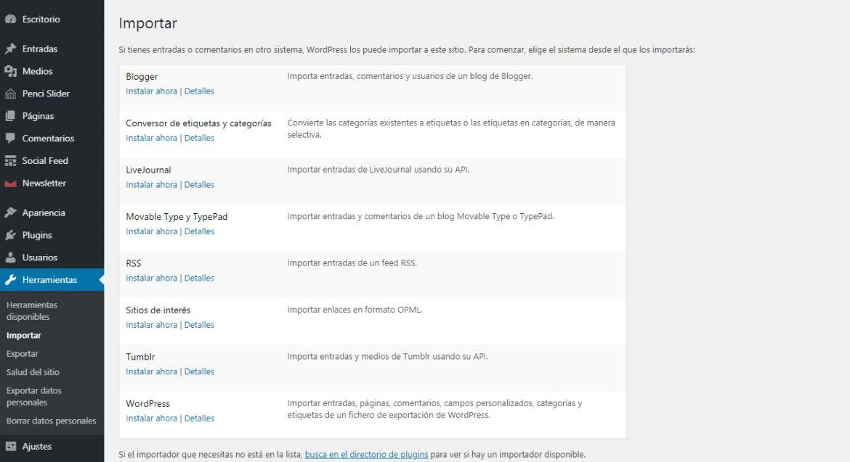 Migrar a WordPress desde Wix | dinahosting