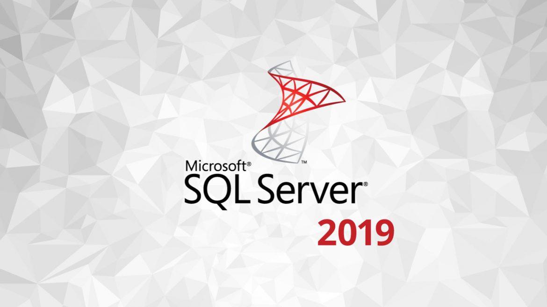 logotipo SQL Server 2019
