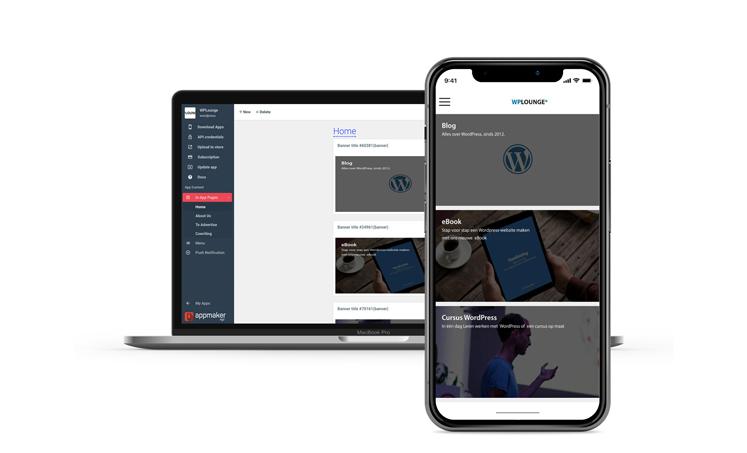 Convertir web en APP con Appmaker WP