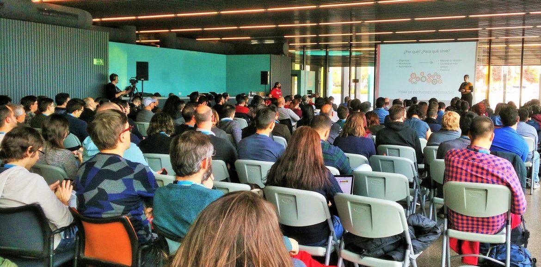Día de ponencias en WordCamp Madrid 2019