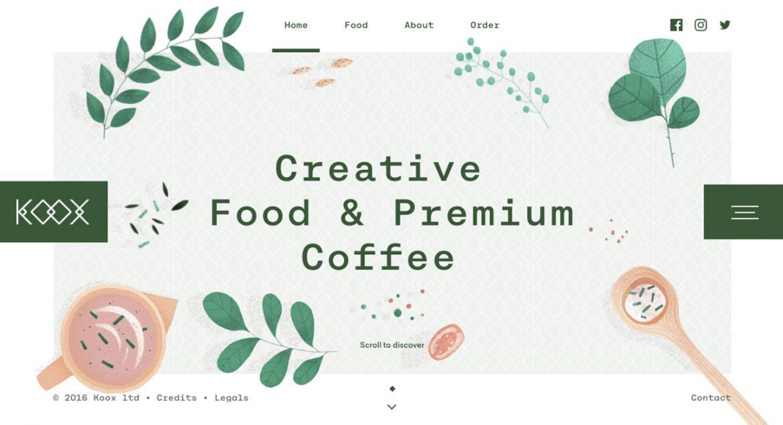 Tendencia web ilustraciones