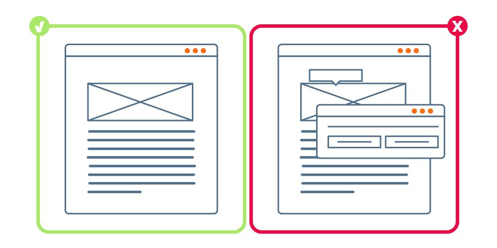 Diseño web sencillo vs. Diseño web saturado | Cómo diseñar una web TOP | dinahosting