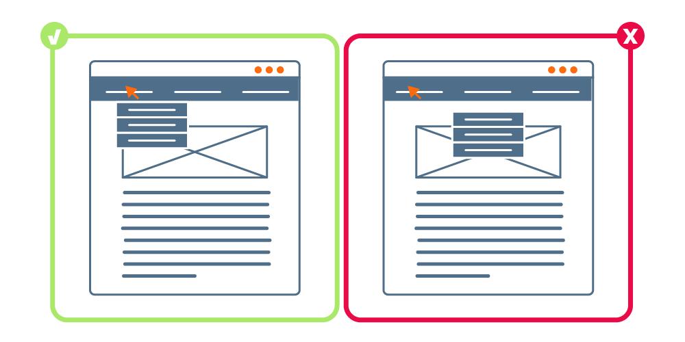 Web usable vs. web compleja | Cómo diseñar una web TOP | dinahosting
