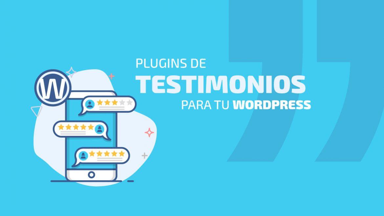 3 plugins de testimonios para tu web en WordPress | dinahosting