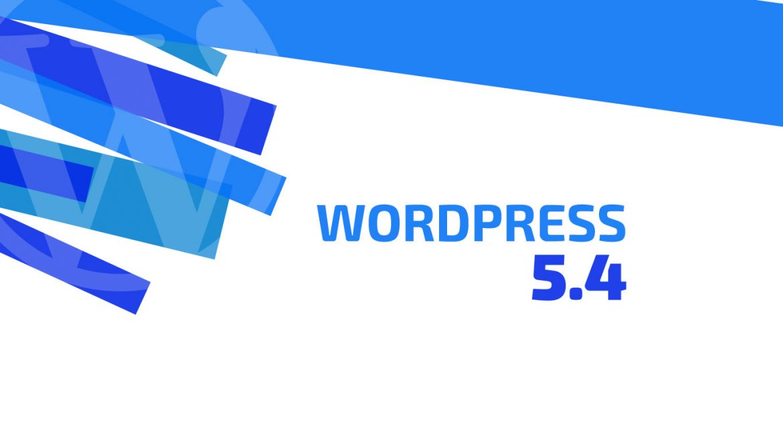 Novedades de WordPress 5.4 | dinahosting