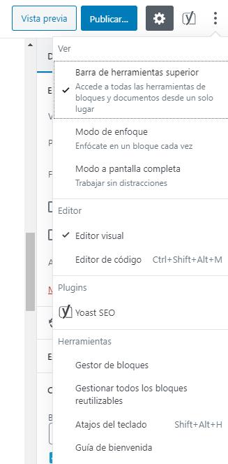 Guía de bienvenida de WordPress 5.4