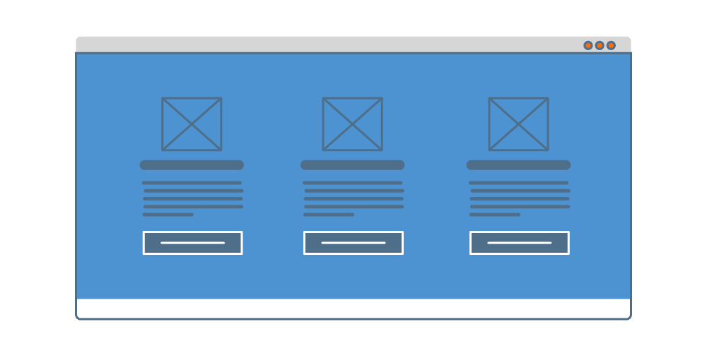 Ejemplo de diseño de layout multi-grid