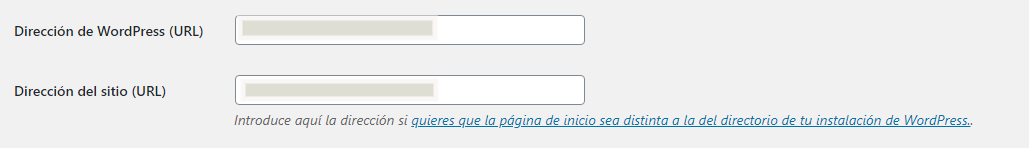 Configurar https en WordPress