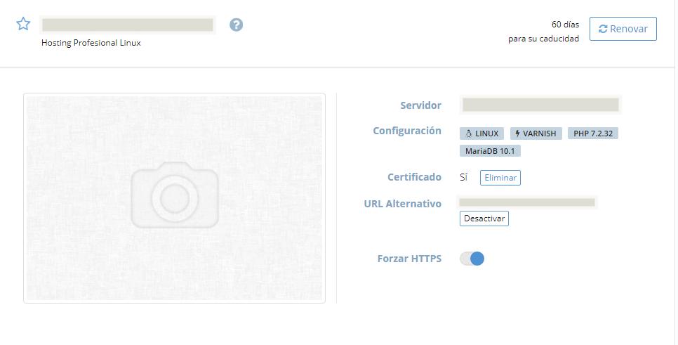 Panel dinahosting forzar HTTPS