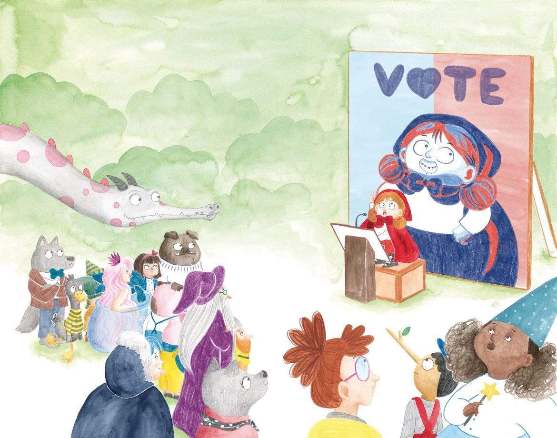 Ejemplo del trabajo de la ilustradora Mar Villar