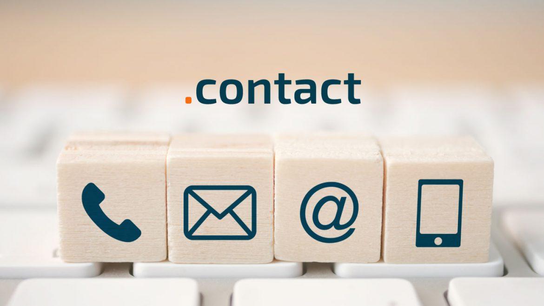 dominio .contact