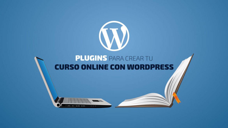 Curso online con WordPress