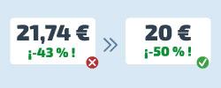 pricing cálculo