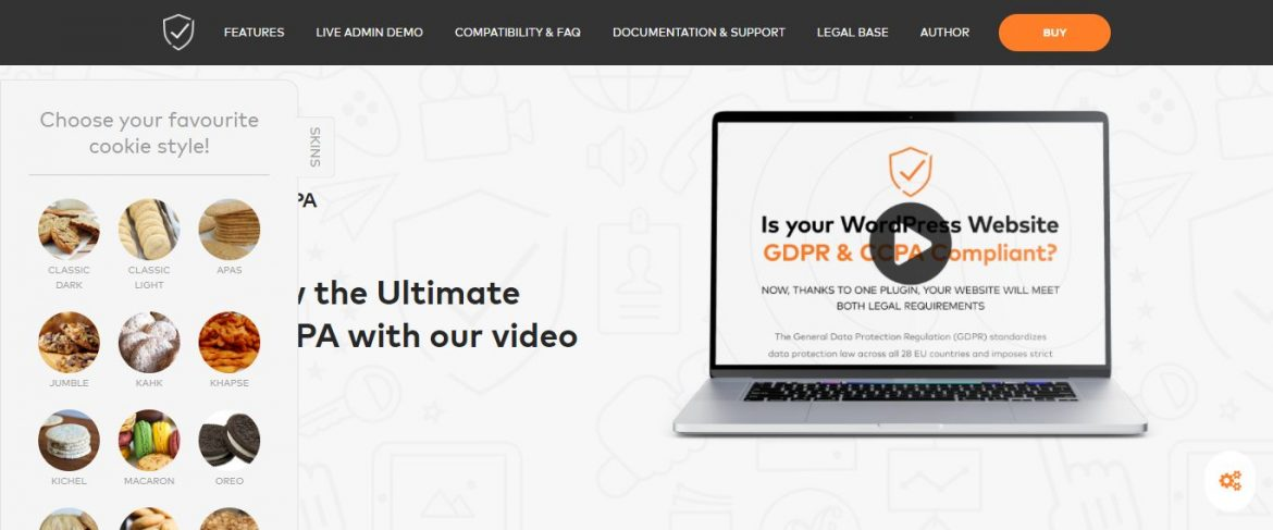 Plugin Ultimate GDPR Compliance Toolkit for WordPress