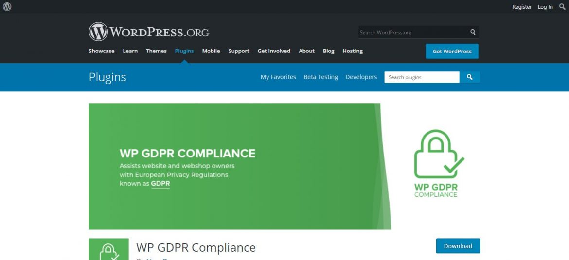Plugin Wp GDR Compliance