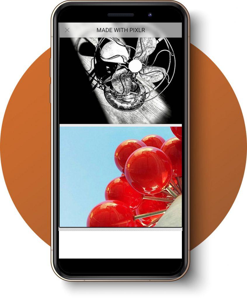 Edición con Pixlr de fotografía profesional con el móvil