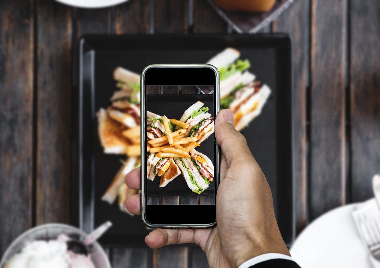 Fototgrafía de menú para restaurante