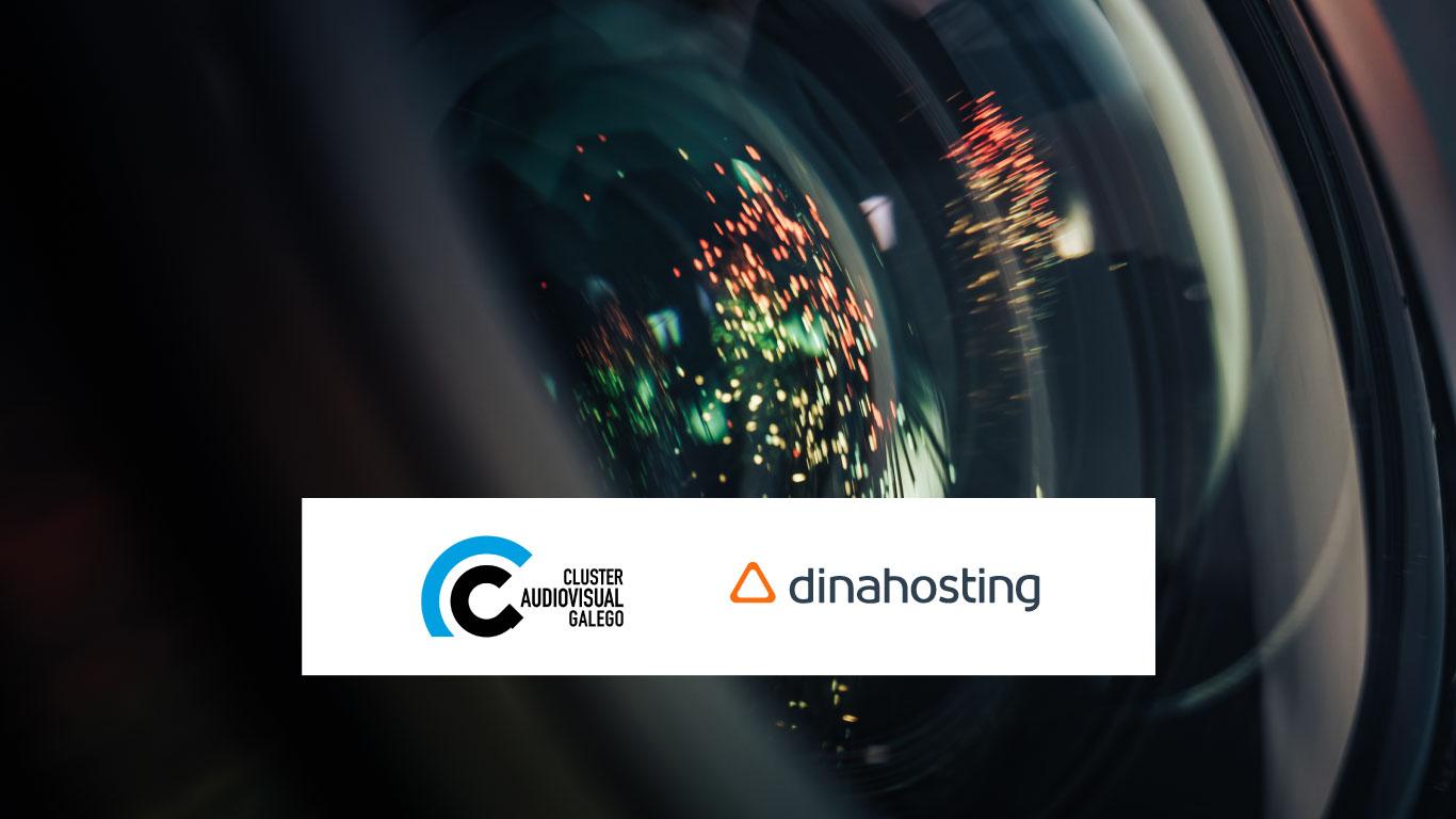 Colaboración entre dinahosting y el Cluster audiovisual galego