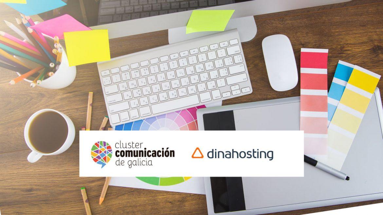 Colaboración dinahosting e Clúster da Comunicación de Galicia