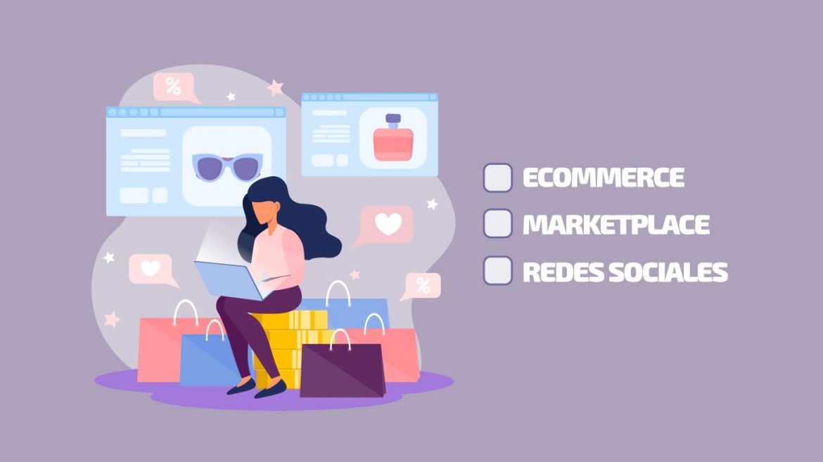 Ecommerce, marketplace o redes sociales