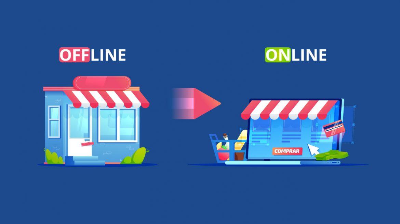pasar negocio offline al online