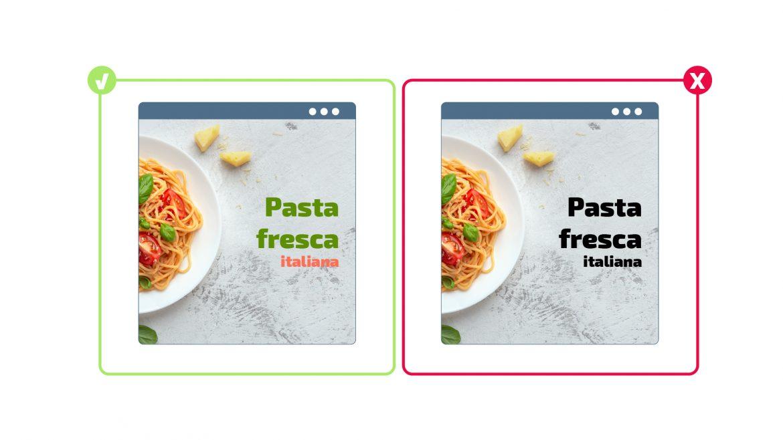 Integra tus imágenes errores crear web