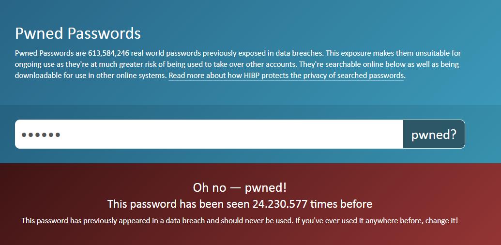 pwned passwords cómo crear contraseñas seguras