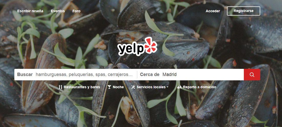 Directorio de empresas Seo Local Yelp