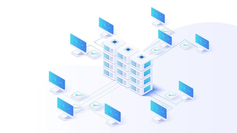 Ejemplo de virtualización de servidores