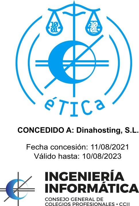sello éTICa dinahosting