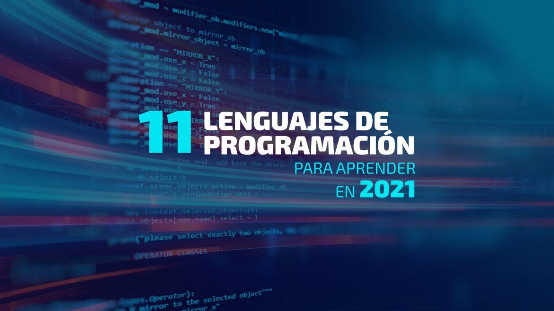 lenguajes de programación 2021